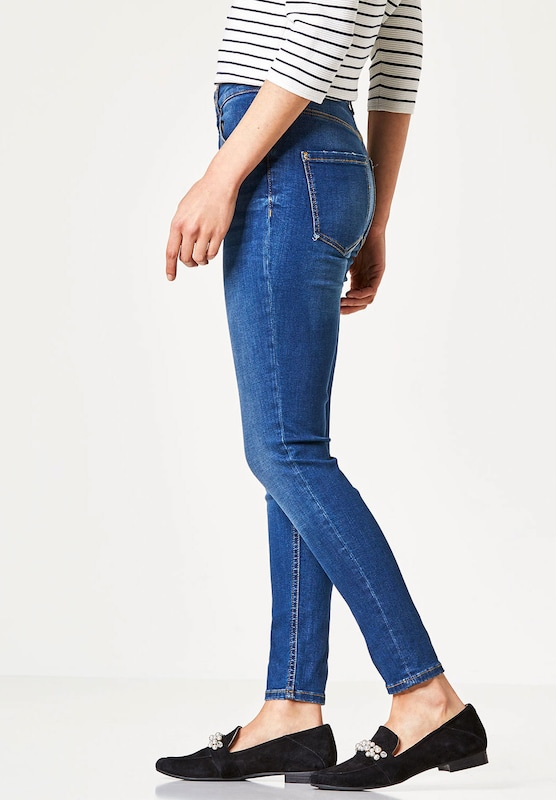 HALLHUBER Skinny High-Waist-Jeans