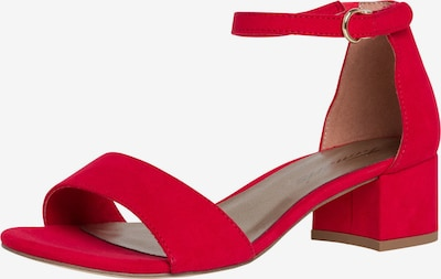 TAMARIS Sandale in rot, Produktansicht