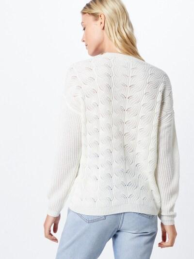 Megztinis 'Chloa' iš VILA , spalva - balta: Vaizdas iš galinės pusės