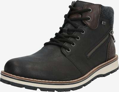RIEKER Snowboots in de kleur Bruin / Zwart, Productweergave