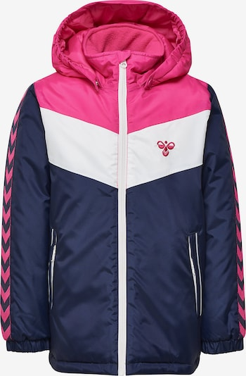 Hummel Winterjacke 'Sonja' in navy / pink / weiß, Produktansicht