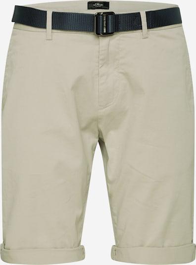 s.Oliver BLACK LABEL Pantalon chino en beige, Vue avec produit