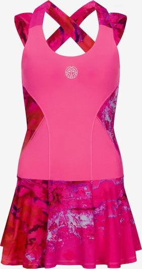 BIDI BADU Kleid 'Lipa Tech' in pink / dunkelpink: Frontalansicht