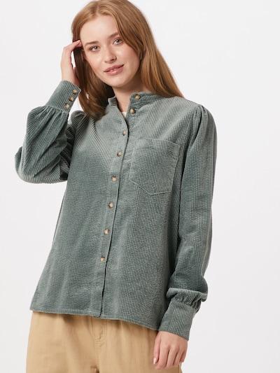 mbym Bluzka w kolorze zielonym, Podgląd na modelu(-ce)