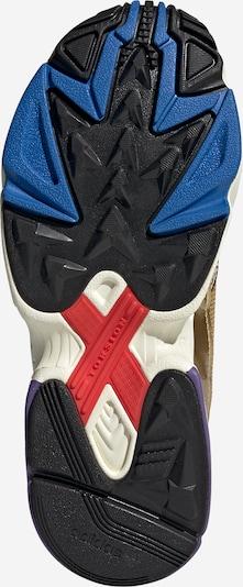 ADIDAS ORIGINALS Sneaker 'Falcon' in gold / weiß: Ansicht von unten