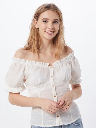 Y.A.S Shirt 'ELA' in eierschale, Modelansicht
