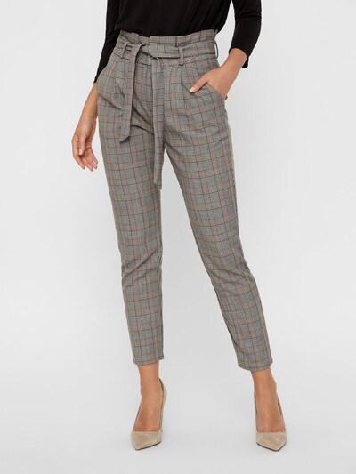 VERO MODA Pantalon 'VMEVA' in de kleur Bruin / Grijs: Vooraanzicht