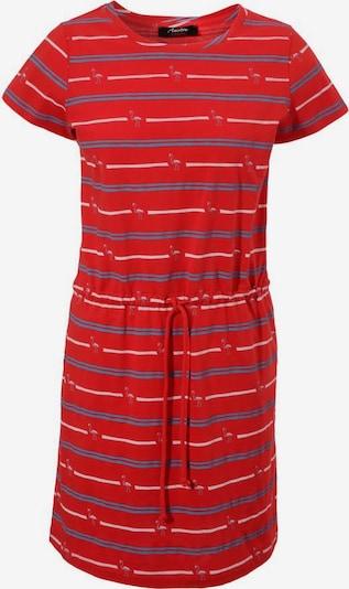 Aniston CASUAL Kleid in blau / altrosa / rot / weiß, Produktansicht
