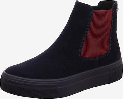 Legero Chelsea Boots in nachtblau / dunkelrot, Produktansicht