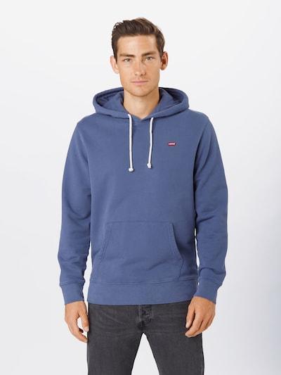 LEVI'S Sweatshirt in indigo: Frontalansicht