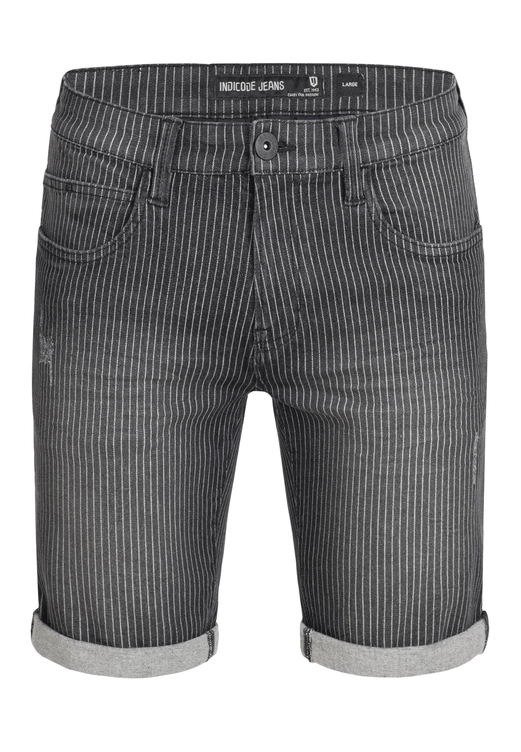 Shorts 'caden' Indicode Dunkelgrau Jeans In 354RcAjLq