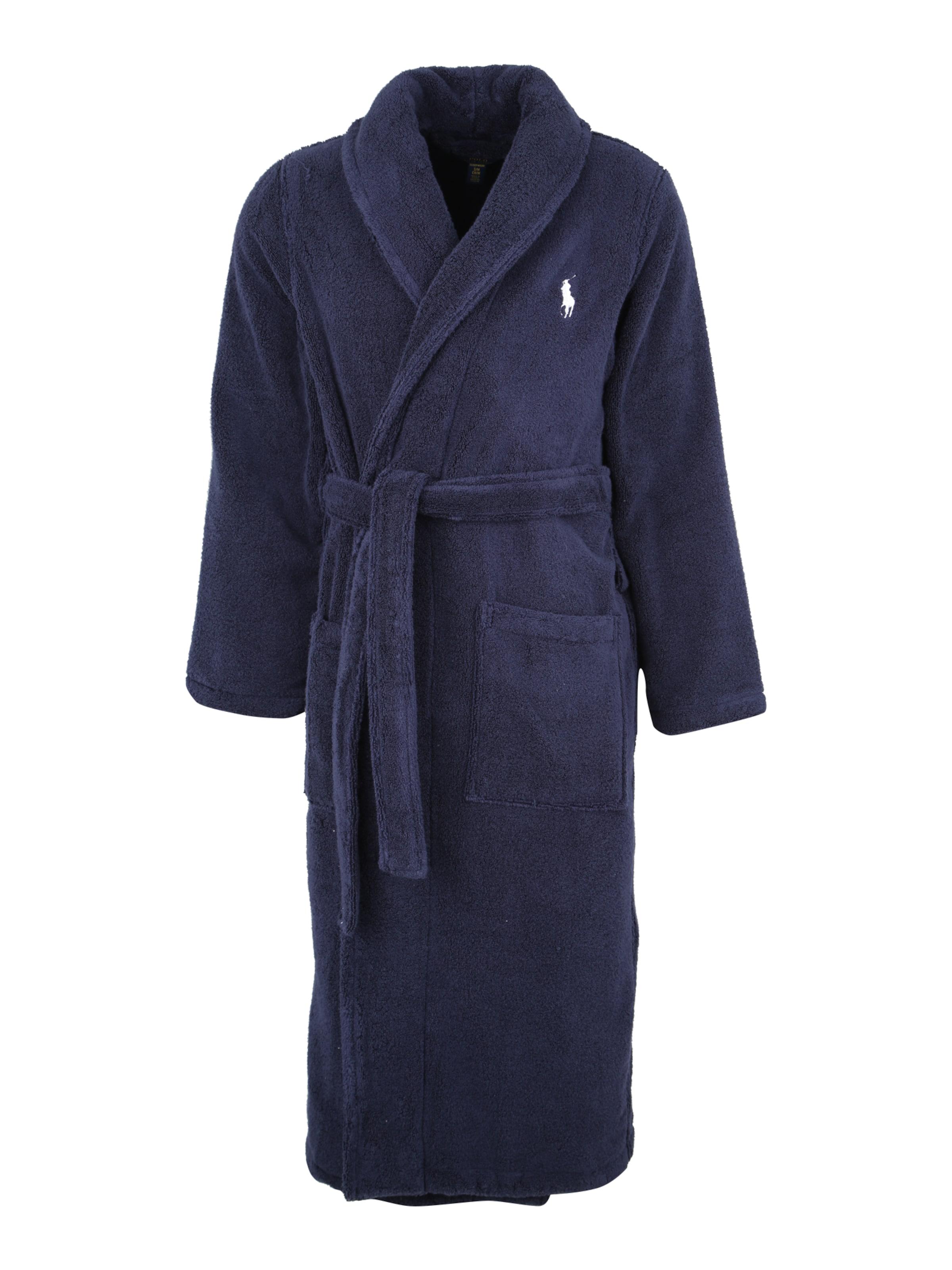 Polo Ralph Lauren Bademantel In Navy 'kimono' Y6bgf7y
