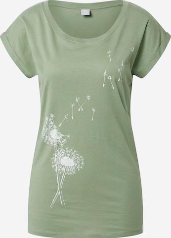 Iriedaily Shirt 'Pusteblume' in Green
