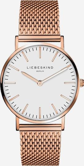 Liebeskind Berlin Uhr 'New Case' in rosegold, Produktansicht
