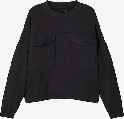 NAME IT Sweat-shirt en noir, Vue avec produit