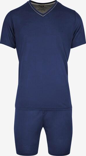 HOM Pyjama 'Relax' in navy / weiß, Produktansicht