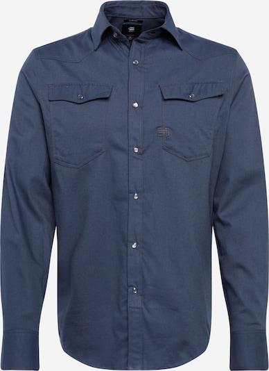 G-Star RAW Koszula biznesowa '3301 slim shirt l\s' w kolorze ciemnozielonym, Podgląd produktu