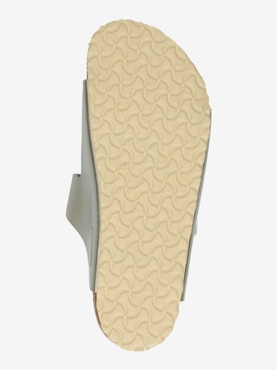BIRKENSTOCK Sandales 'ARIZONA' en or: Vue de dessous