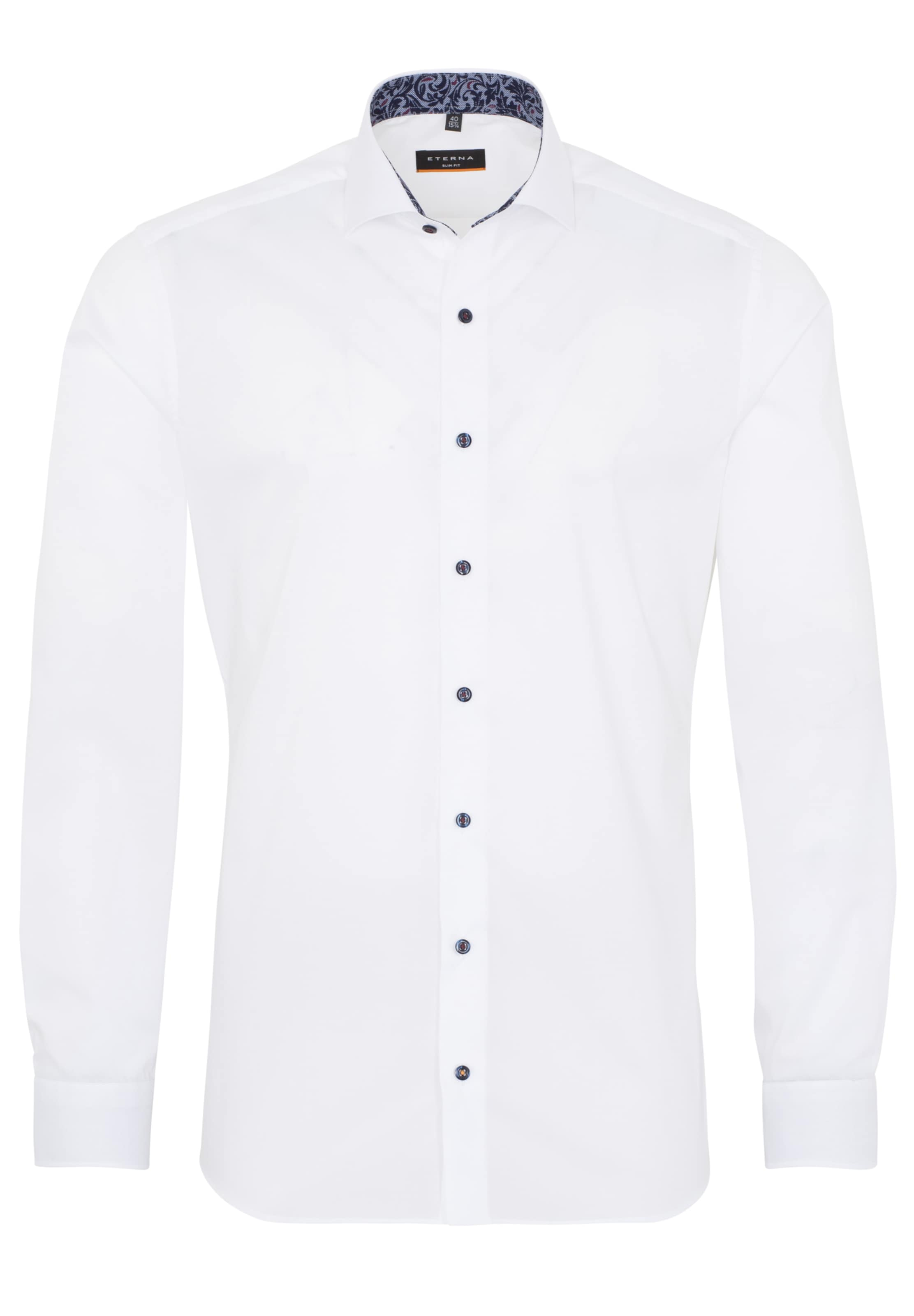 Hemd Eterna Eterna Weiß In Weiß Hemd In wmvN8n0