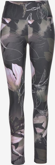 LASCANA Leggings in grau / pink, Produktansicht