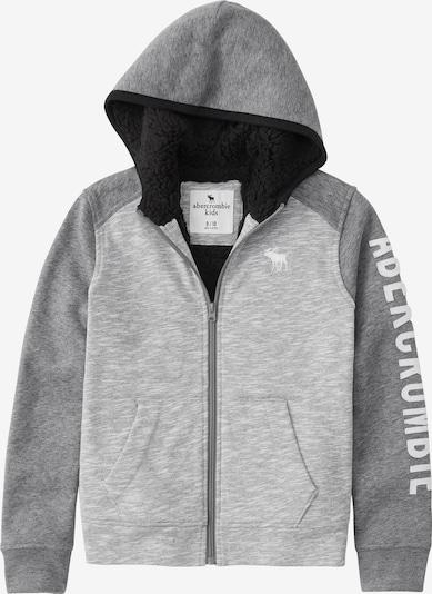 Abercrombie & Fitch Sweatjacke in grau, Produktansicht