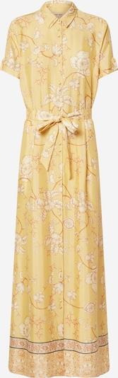 MOS MOSH Kleid 'Jessy Sunny' in ecru / rostbraun / goldgelb, Produktansicht