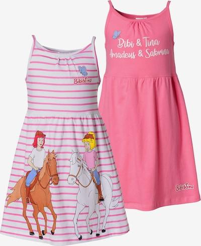 Bibi und Tina Kleid in pink / pastellpink, Produktansicht