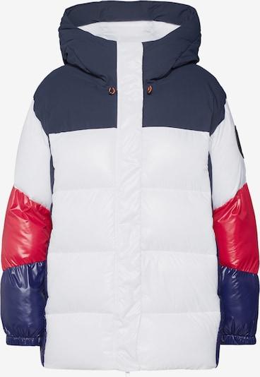 SAVE THE DUCK Zimní bunda 'GIUBBOTTO CAPPUCCIO' - modrá / červená / bílá, Produkt