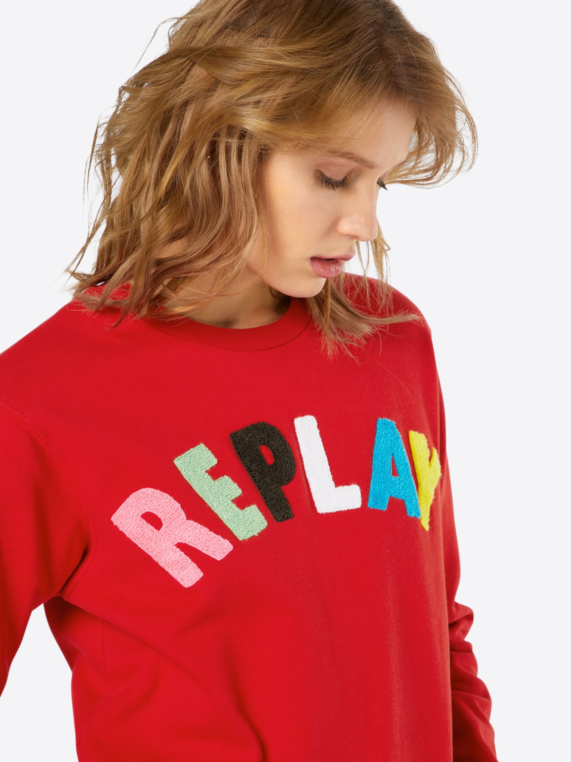 REPLAY Sweatshirt REPLAY Logo Sweatshirt Logo REPLAY rOqzxfwr