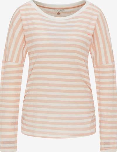 Tricou Petrol Industries pe portocaliu piersică / alb, Vizualizare produs