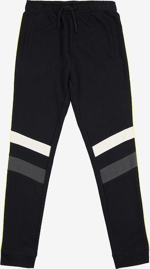 NAME IT Spodnie w kolorze neonowo-żółty / szary / czarny / białym, Podgląd produktu