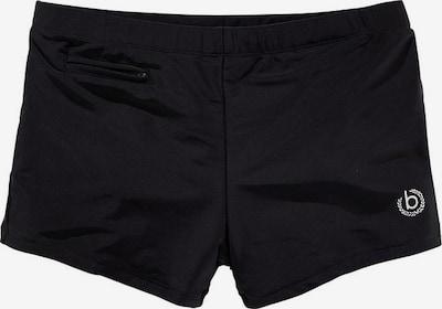 bugatti Boxerbadehose in schwarz, Produktansicht