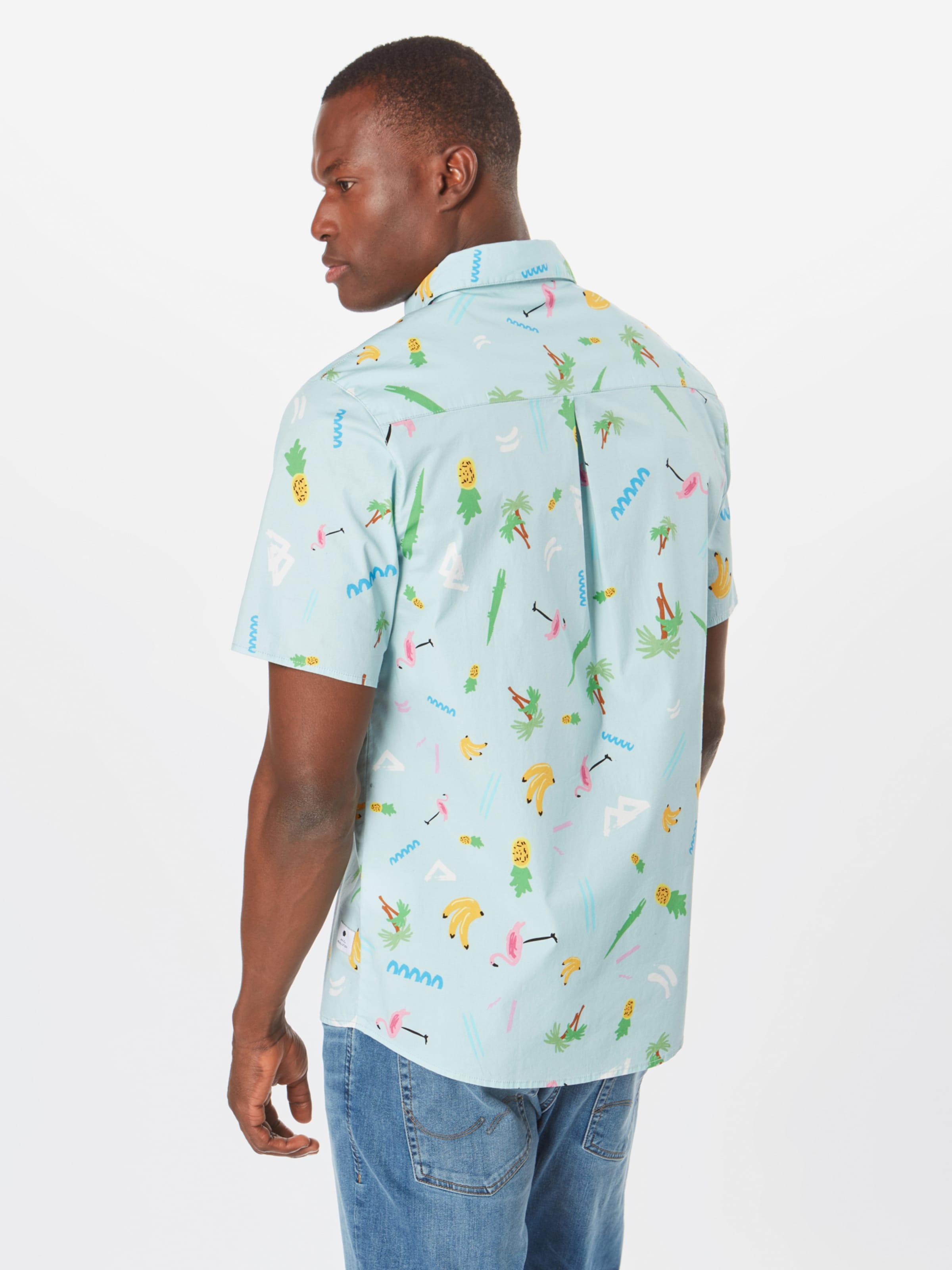Shirt' HellblauMischfarben Hemd Revolution 'nicolas In wm8NOyv0Pn