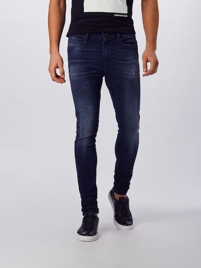 DIESEL Jeans 'ISTORT' in blue denim, Modelansicht