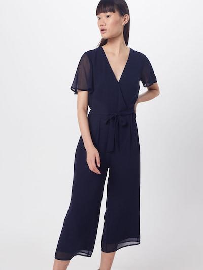 Esprit Collection Jumpsuit 'Lux Fluid' in navy, Modelansicht