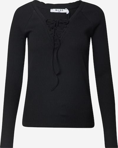 NA-KD Shirt in schwarz, Produktansicht