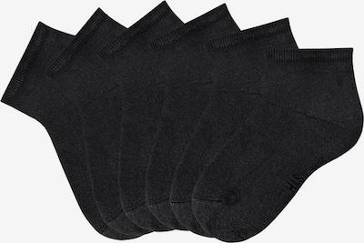 HIS JEANS Kurzsocke in schwarz, Produktansicht