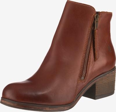 Apple of Eden Ankle Boots 'Lotte' in braun, Produktansicht