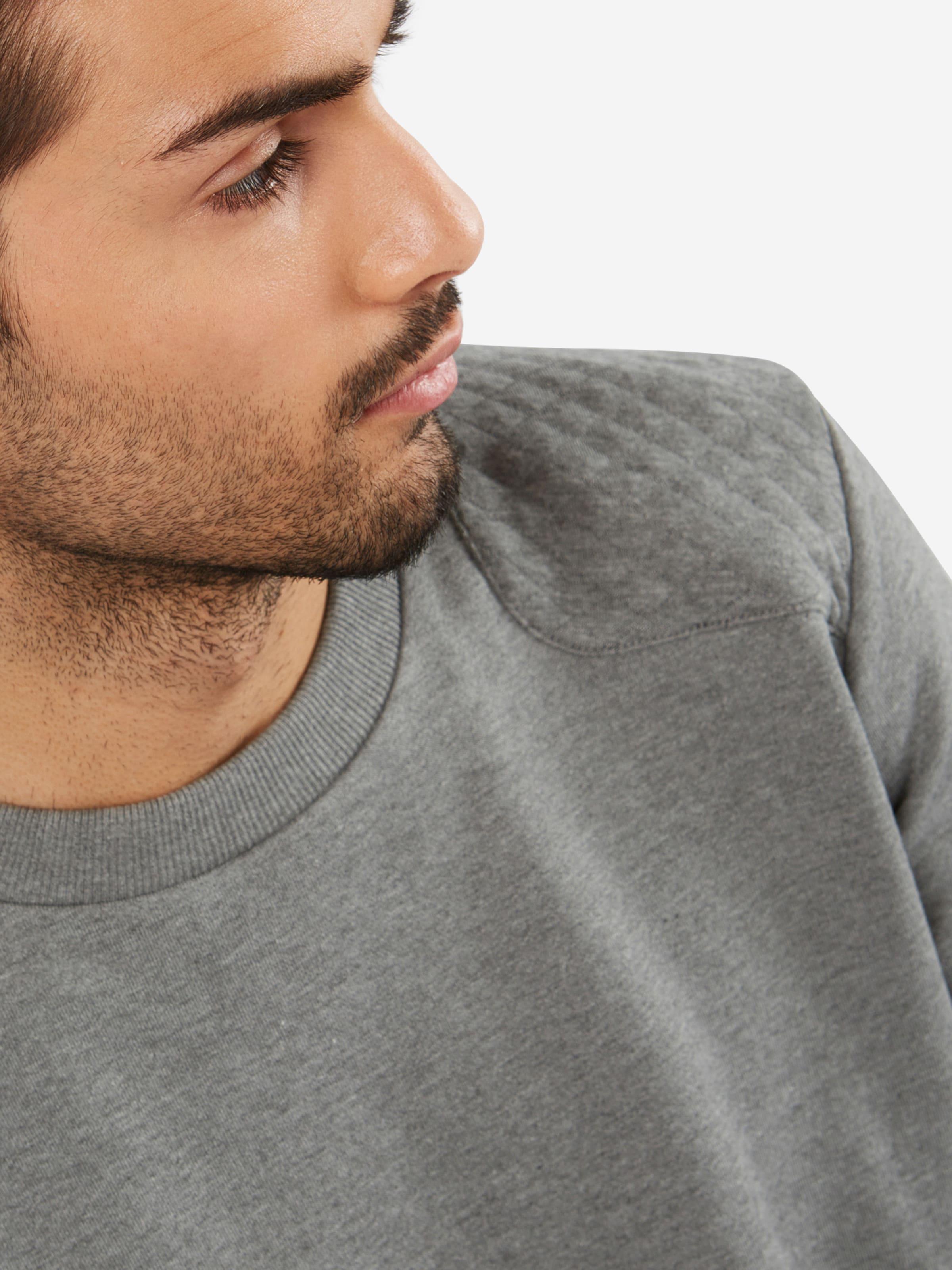 Auslass Günstigsten Preis HUGO Sweatshirt mit Rautenstepp 'Danderas' Steckdose Mit Kreditkarte YLmfid