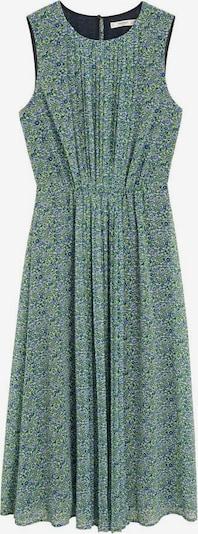 MANGO Kleid 'mauri' in blau / grün / weiß, Produktansicht