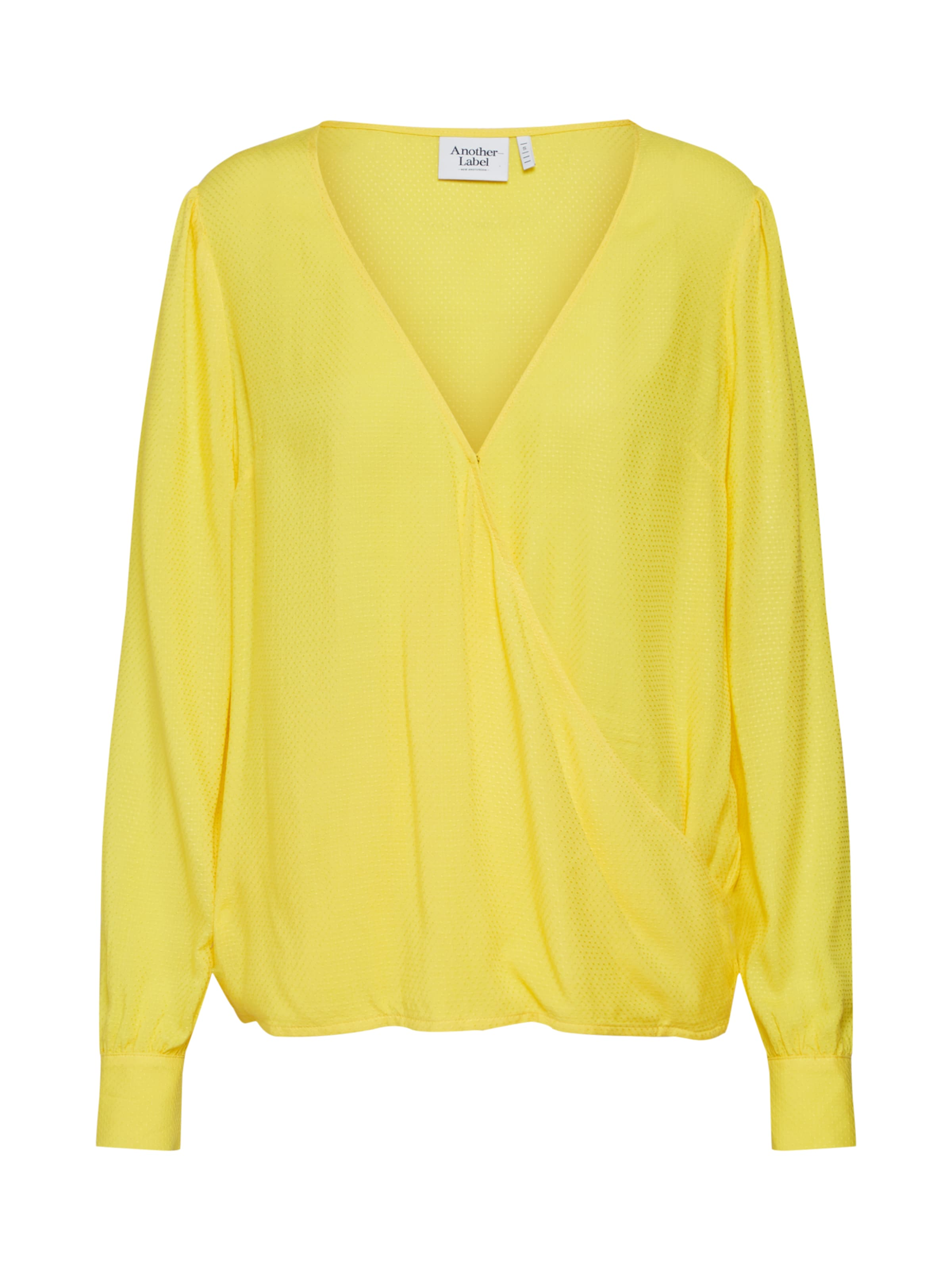 In Geel Another 'ruffin' Label Blouse 5L4ARj