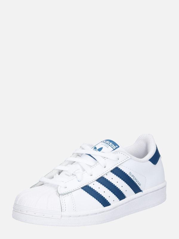 ADIDAS ORIGINALS Sneaker 'SUPERSTAR' in blau weiß | ABOUT YOU