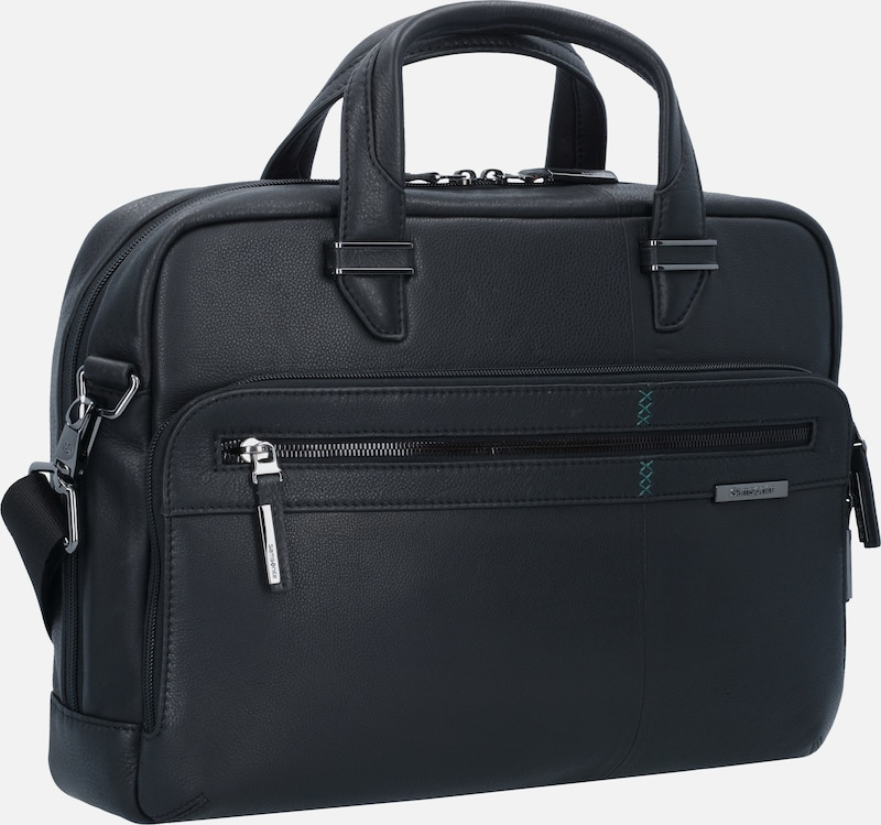 SAMSONITE Formalite LTH Businesstasche Leder 37 cm Laptopfach