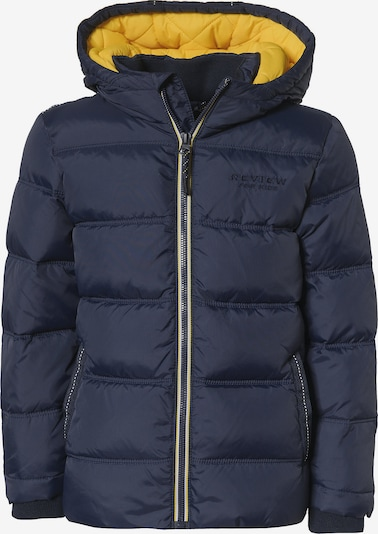REVIEW FOR KIDS Jacke in navy / gelb: Frontalansicht