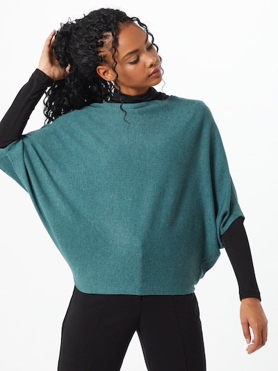 JACQUELINE de YONG Pullover 'New Behave' in grün, Modelansicht