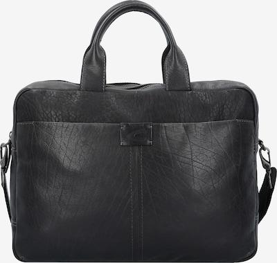 CAMEL ACTIVE Ontario Businesstasche Leder 40 cm Laptopfach in schwarz, Produktansicht