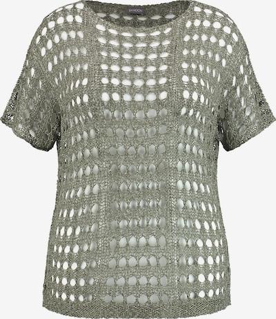 SAMOON Pullover in oliv, Produktansicht