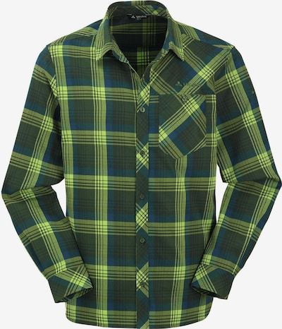 VAUDE Hemd in grün / petrol / neongrün, Produktansicht