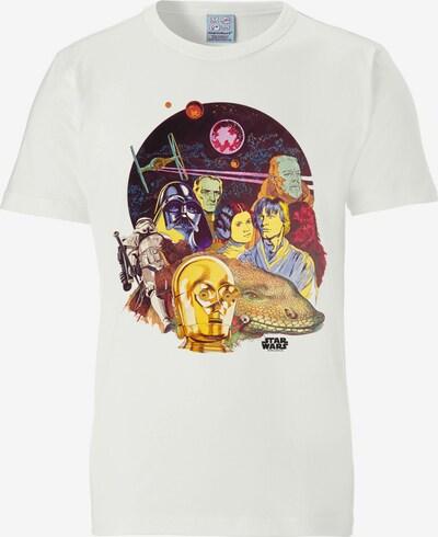 LOGOSHIRT T-Shirt 'Star Wars' in weiß, Produktansicht