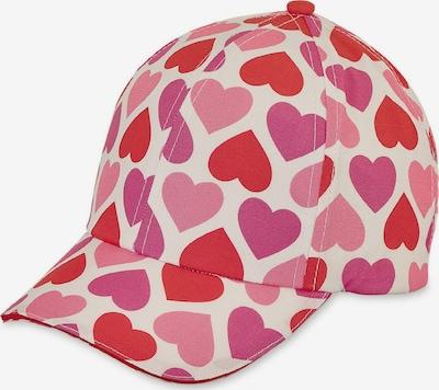 STERNTALER Müts rosé / eosiin / punane / loodusvalge: Eestvaade